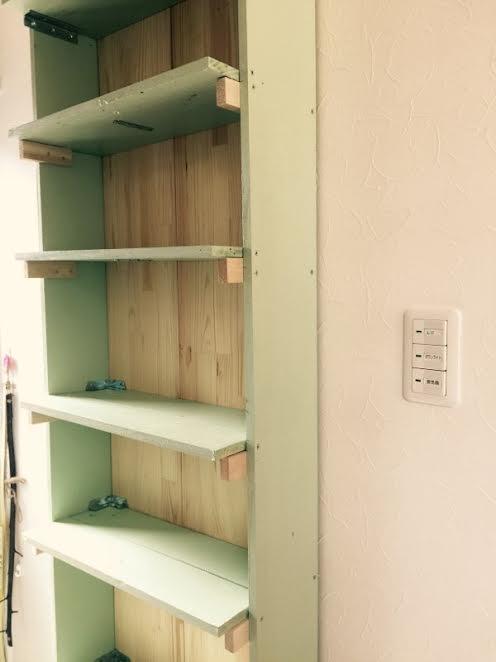山口県山口市宮野美容院美容室シューケット/棚/猫カフェ
