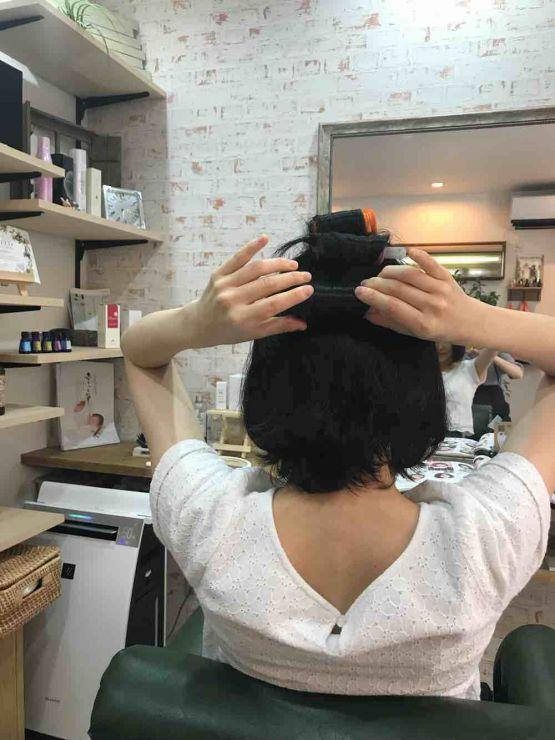 山口市 美容室 美容院 シューケット/縮毛矯正/ストカール/縮毛矯正ふんわり/自然/根本/立ち上がり/動き