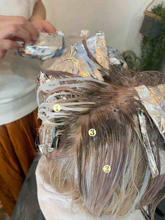 山口市 シューケット/グレイへア/白髪染めやめる/かぶれる/長持ち/目立たない