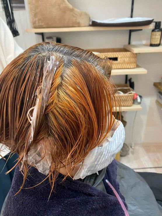 山口市 美容室 美容院 シューケット/グレイヘア入門/白髪染め/やめる/抜く/白くする