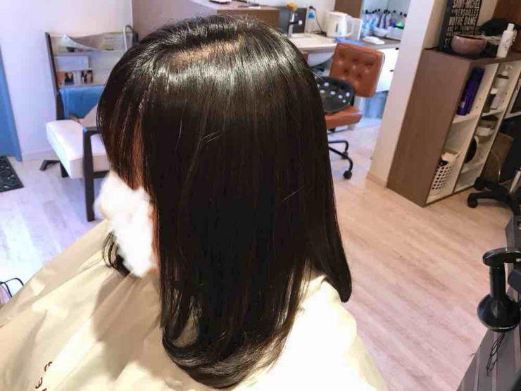 山口市 美容室 美容院 シューケット /白髪染め/おしゃれ/明るめ/明るくしたい/ヘアカラー/グレイヘア/メッシュ