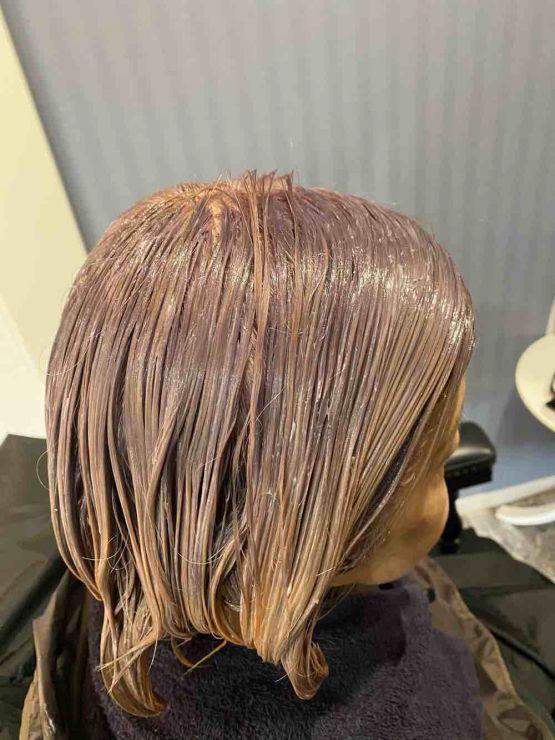 山口市 美容室 美容院 シューケット/グレイヘア/白髪染め/脱白髪染め/グレーヘア/やめる/傷まない