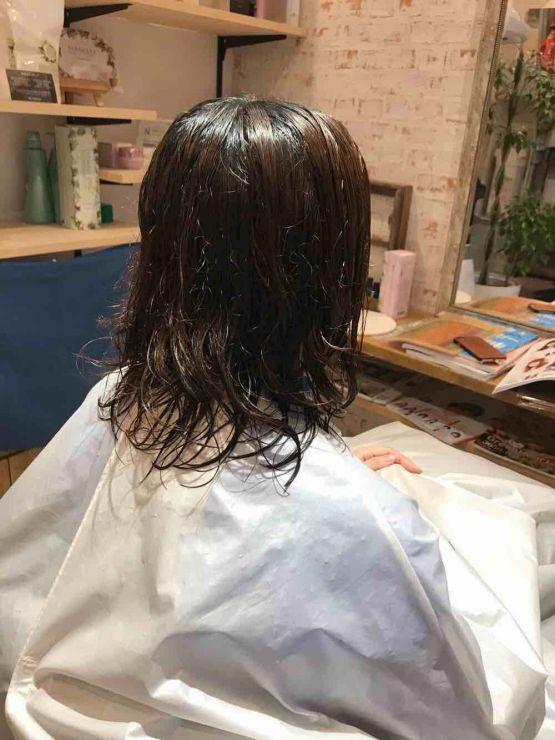 山口市 美容室 美容院 シューケット【ウエーブタイプのクセも…】クセ/はねる/髪質/ブロー/縮毛矯正/ストカール