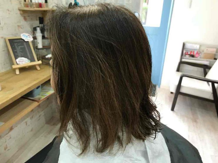山口市 美容室 美容院 シューケット/グレイヘア/移行/白髪染め/脱/グレーヘア/やめる/傷まない