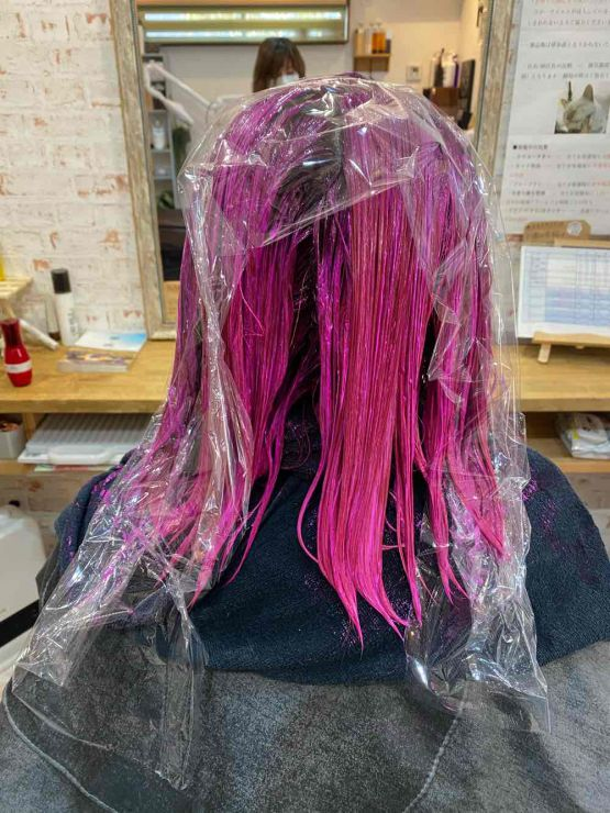 山口市 美容室 美容院白髪染め脱染 ブリーチ 上手 おすすめ 明るく