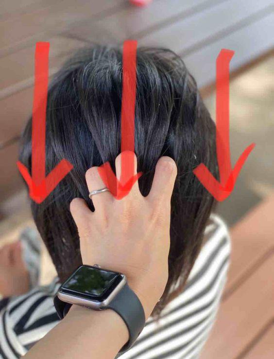 山口市 美容室 美容院/デジタルパーマ/ゆるふわ/ポニー/くしゅくしゅ/引き出す/アレンジ